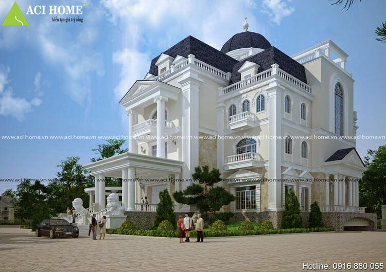 Biệt thự 5 tầng tại Ninh Bình
