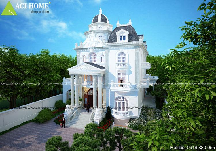biệt thự cổ điển Vũng Tàu