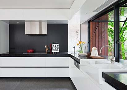 Thiết kế nội thất phòng bếp đẹp theo phong thủy - ảnh bìa