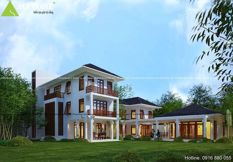 thiết kế nhà phố theo chuẩn phong thủy Á Đông