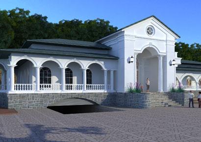 Thiết kế biệt thự kiểu Pháp 2 tầng tại Ninh Bình