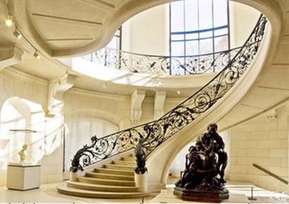 thiết kế cầu thang theo Phong thủy