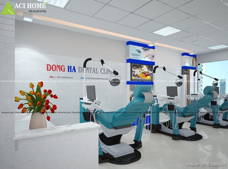 Thiết kế nội thất phòng khám đa khoa