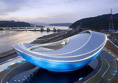 chiêm ngưỡng kiến trúc bảo tàng Arc tại Hàn Quốc