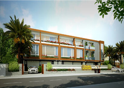 thiết kế nhà phố liền kế