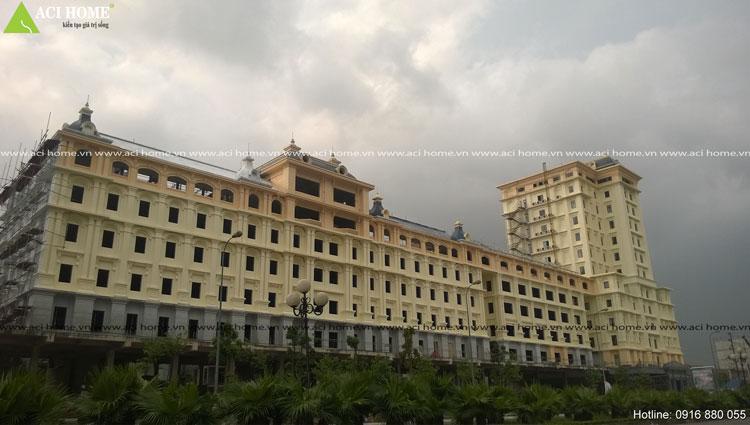 Công trình khách sạn và trung tâm thương mại
