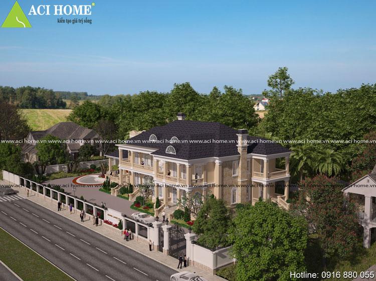 biệt thự tân cổ điển Pháp tại Quảng Ninh