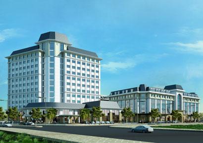 Thiết kế khách sạn kiêm trung tâm mua sắm