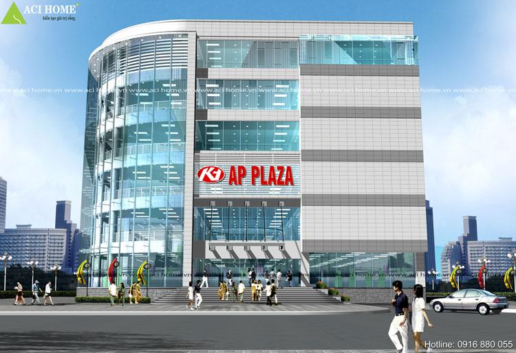 thiết kế trung tâm thương mại Ap Plaza