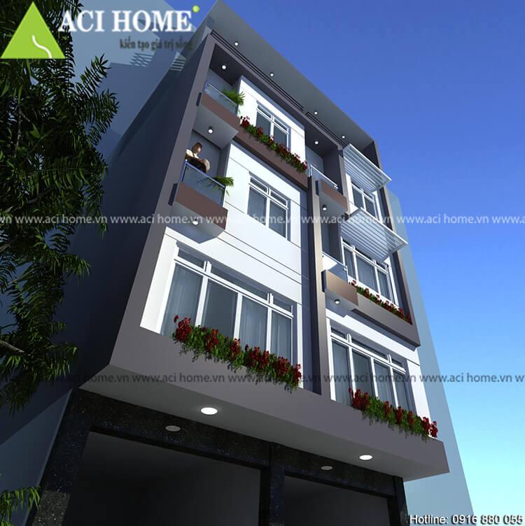 giải pháp cho mẫu thiết kế nhà phố đẹp