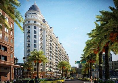Thiết kế khách sạn cổ điển Thanh Van Hotel