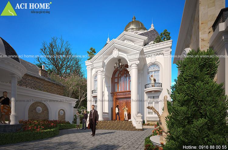 Bề thế và hoành tráng và nhận định sâu sắc nhất về công trình kiến trúc tại Hòa Bình này