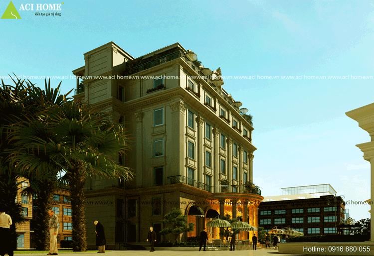 Khách sạn được thiết kế tại thành phố Bắc Ninh