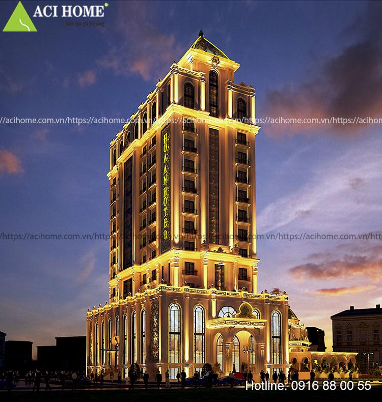 Nhà hàng khách sạn Hoa An