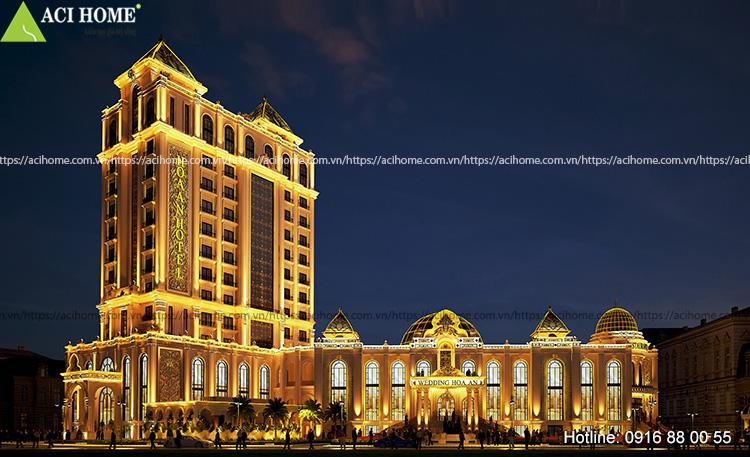 Thiết kế khách sạn 4 sao Hoa An