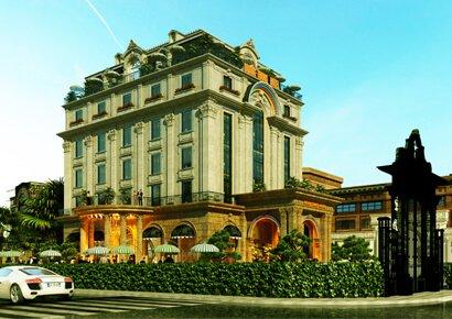 Thiết kế khách sạn cổ điển Quang Trung Hotel
