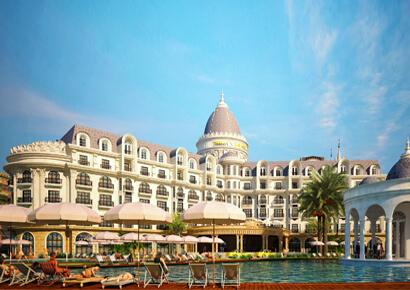 Mẫu thiết kế khách sạn cổ điển kiểu Pháp