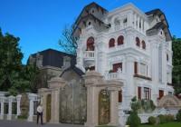 Mẫu thiết kế biệt thự kiểu Pháp Hoa Phương Villa