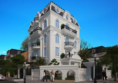 Thiết kế biệt thự Kiêu Pháp