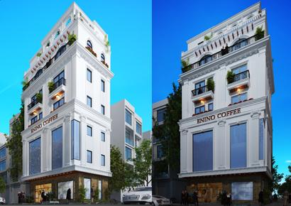 thiết kế nhà phố kết hợp kinh doanh tại Hải Phòng