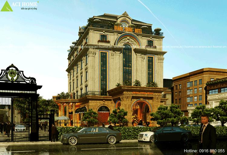 khách sạn kiểu Pháp 3 sao tại Bắc Ninh