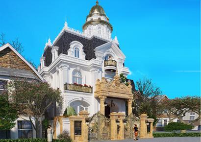 Thiết kế biệt thự kiểu Pháp tại Yên Bái