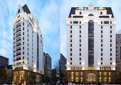 10 mẫu thiết kế khách sạn kiểu Pháp