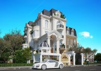 Mẫu thiết kế biệt thự kiểu Pháp Marri Villa