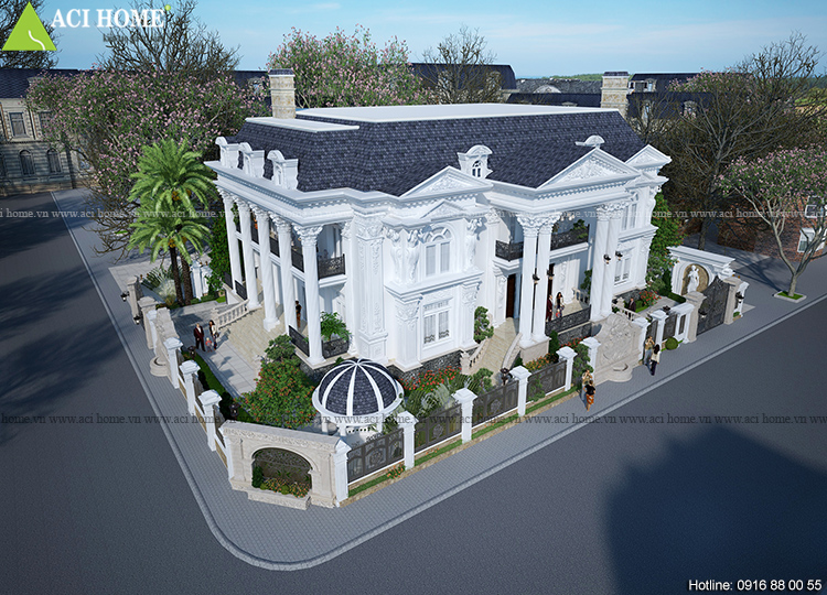 biệt thự đẹp 2 tầng tại Huế
