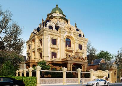 Thu Huong villa mẫu thiết kế biết thự kiểu Pháp cổ điển