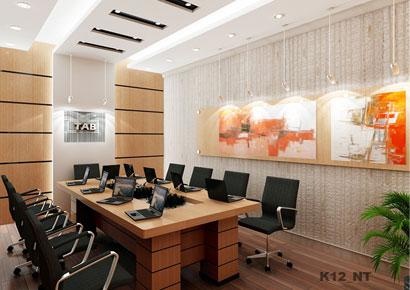 thiết kế cải tạo nội thất nhà phố thành văn phòng
