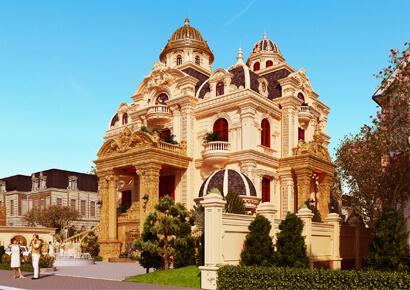 Xu hướng thiết kế biệt thự cổ điển Pháp