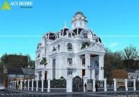 vẻ đẹp của những mẫu thiết kế biệt thự kiểu Pháp của Acihome