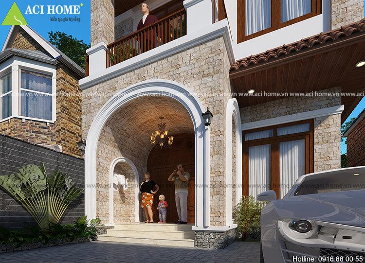 Thiết kế biệt thự Á Đông tại Ninh Bình