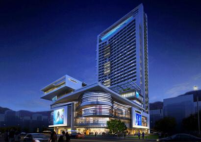 thiết kế khách sạn hiện đại 4 sao tại Ninh Bình