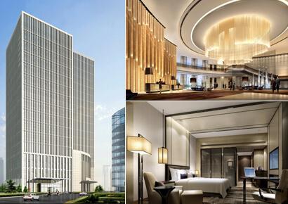 thiết kế khách sạn hiện đại 4 sao 15 tầng