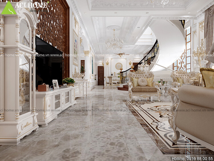 góc nhìn tiểu cảnh thiết kế nội thất phòng khách