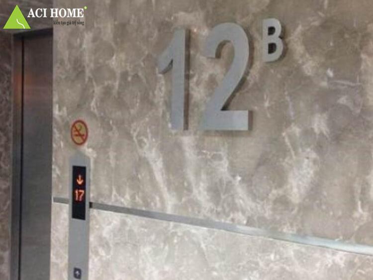 thay thế tầng 13 thành tầng 12B