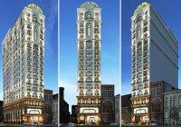 Mẫu thiết kế khách sạn 3 sao kiến trúc Pháp