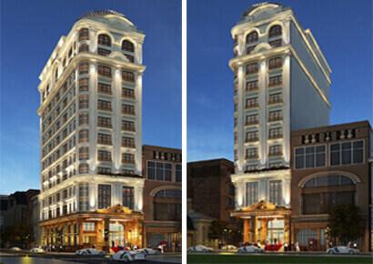 Thiết kế khách sạn kiểu Pháp khách sạn LEGEND tại Cửa Lò
