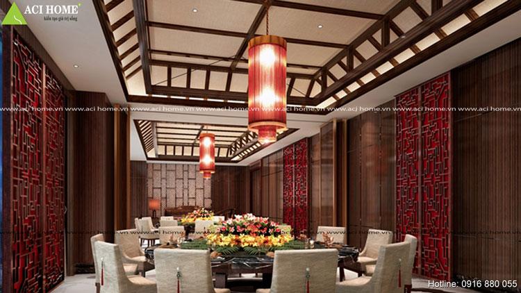 Mẫu thiết kế khách sạn á đông tại Vinh