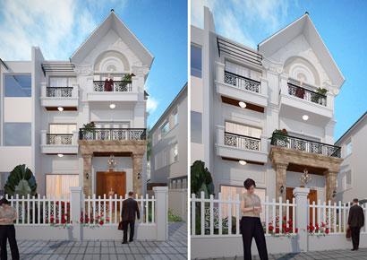 cải tạo biệt thự nhà ông Hoàng Anh Tuấn tại Quận Long Biên