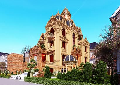 Thiết kế biệt thự kiểu Pháp tại Thành phố Biên Hòa Đồng Nai