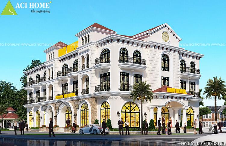 Mẫu thiết kế khách sạn 2 sao tại thành phố Vũng Tàu