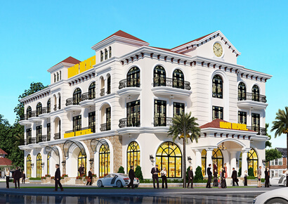 Thiết kế khách sạn 3 sao tại tp Vũng Tàu