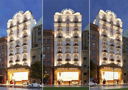 Thiết kế khách sạn cổ điển Cicilian tại Quận 1 tp Hồ Chí Minh