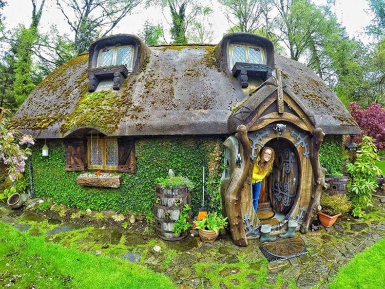 thiết kế nhà trong chuyện cổ tích