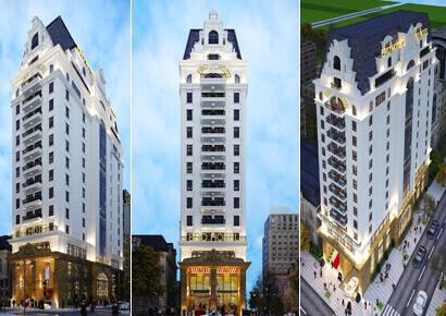 Thiết kế khách sạn kiểu Pháp Ero Hotel