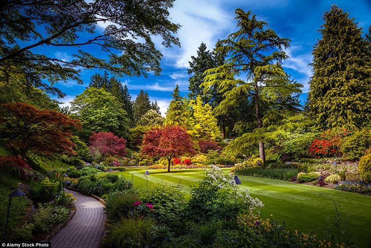 Vườn Butchart, British Columbia, Canada