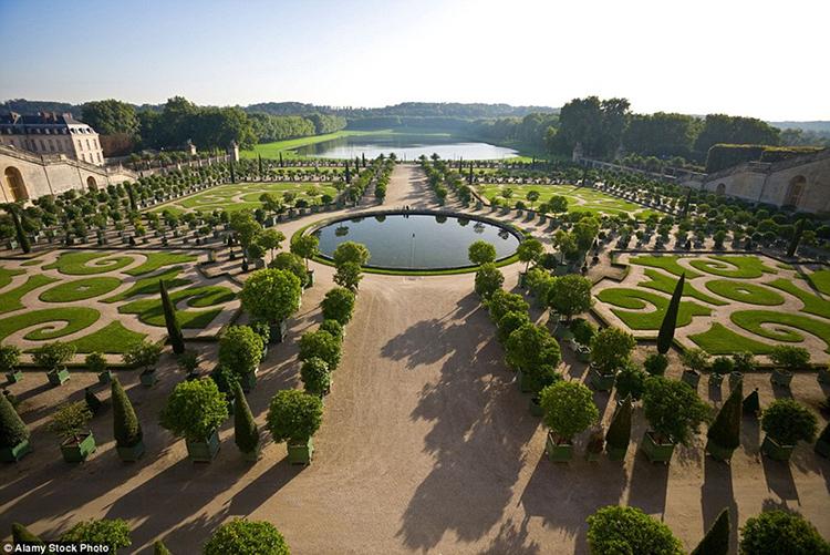 Vườn điện Versailles, Paris, Pháp